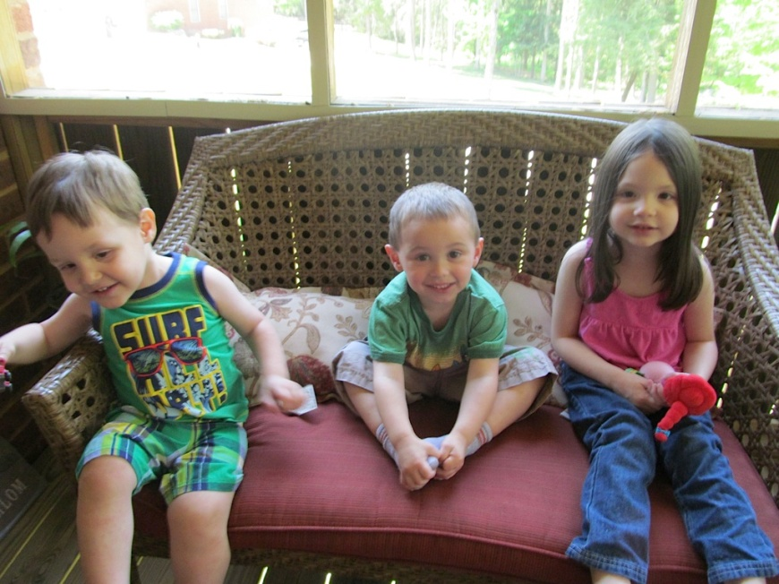 Andrew, Lucas & Melissa